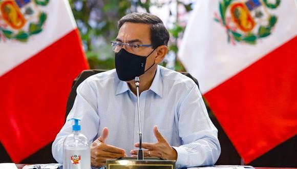 Presidente Martín Vizcarra deberá acudir este lunes al Congreso para exponer su defensa frente a la moción de vacancia en su contra (Foto: Presidencia)