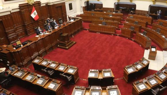 Los representantes del Ministerio Público y el Poder Judicial se presentarán este lunes en la Comisión de Constitución.  (Foto: Archivo Congreso de la República)
