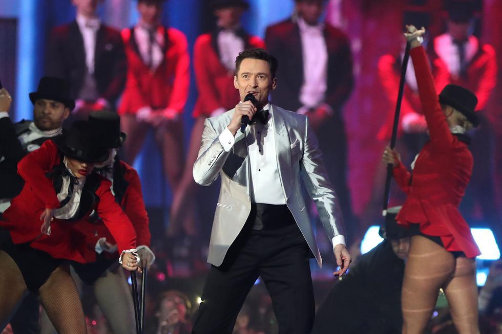Hugh Jackman en los Brit Awards 2019 (Foto: AFP)