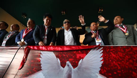 Trelles (al centro) fue gobernador de Piura entre el 2003 y 2010. (Foto: Alessandro Currarino / GEC)