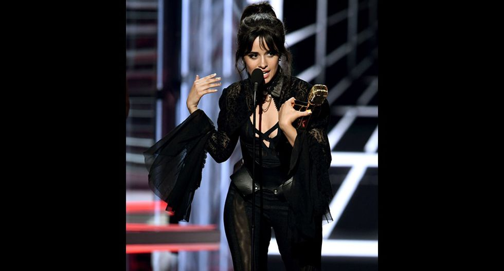 Billboard 2018. Camila Cabello, ganadora del premio Billboard Chart Achievement Award. (Goto: AFP)