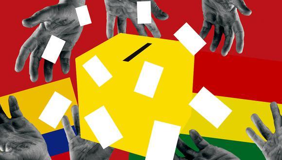 Los ecuatorianos volverán a las urnas el 11 de abril para elegir a su nuevo presidente. En octubre pasado, los bolivianos optaron nuevamente por el MAS, el partido de Evo Morales. (ILUSTRACIÓN GIOVANNI TAZZA)