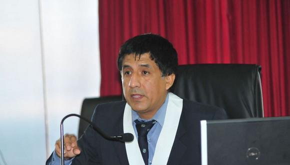 Juez Richard Concepción Carhuancho recibió sanción de la OCMA por declaraciones a la prensa en el 2018. (Foto: Poder Judicial)
