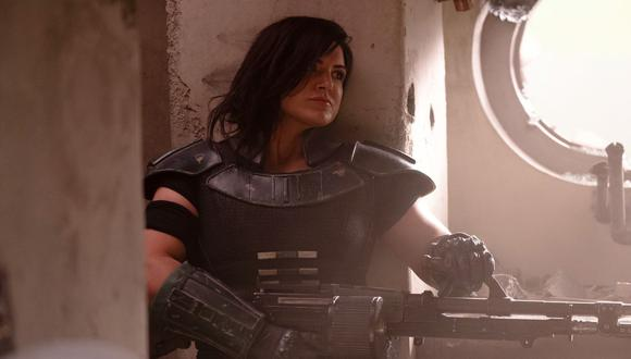 Gina Carano fue despedida por Lucasfilm y podrá seguir en The Mandalorian o ningún otro proyecto futuro de la productora. (Foto de archivo: AP)