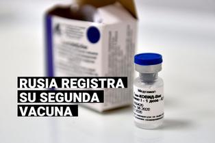 Vladimir Putin anuncia que Rusia aprobó la segunda vacuna contra la COVID-19