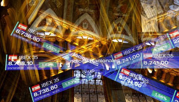 La Bolsa de Madrid bajó hoy un 0,78% y acabó en 9.046 puntos. (Foto: EFE)
