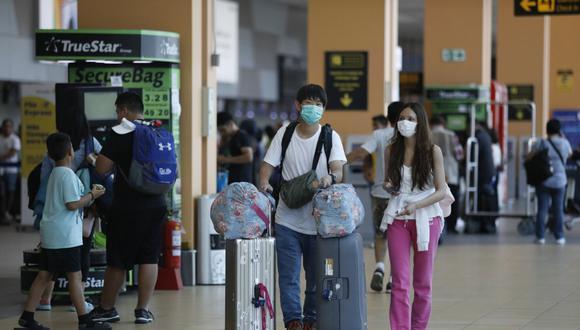 Desde mañana, y por un plazo de 30 días, no llegarán vuelos procedentes de países de Asia y Europa. (Foto: GEC)