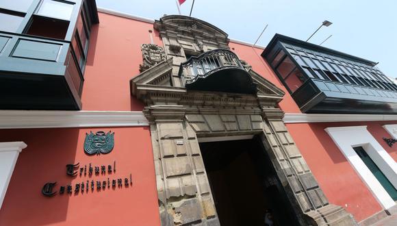 """Como se recuerda la acusación constitucional contra cuatro magistrados del Tribunal Constitucional (TC) se da debido a su variación de un fallo en el caso """"El Frontón"""". (Foto: Andina)"""