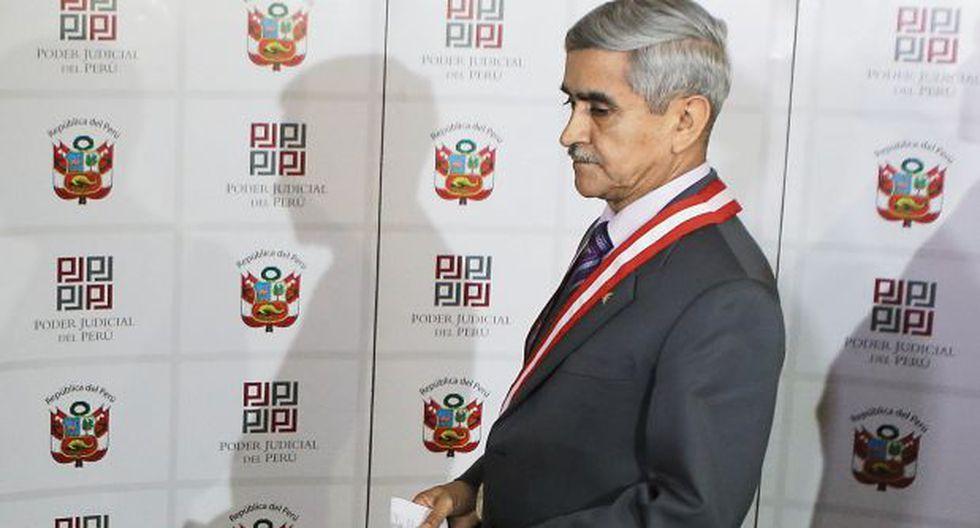 Según Duberlí Rodríguez, no se trató nada ilícito en la reunión con Aguila. (Foto: Alonso Chero/El Comercio)