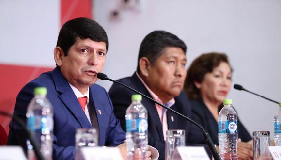 Agustín Lozano está en el cargo desde fines del 2018. (Foto: FPF)