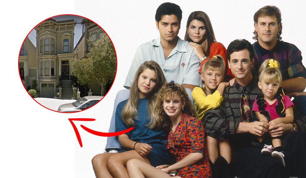"""¿Sabes dónde queda la casa donde se grabó """"Full House""""? Descubre esta locación utilizando Google Maps. Te traerá recuerdos. (Foto: Google)"""