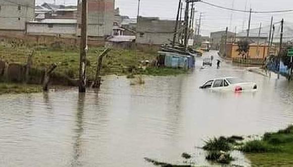 Ocurrió la tarde del domingo 3 de enero, frente al hospital de EsSalud en el distrito de Chaupimarca. Foto: PNP