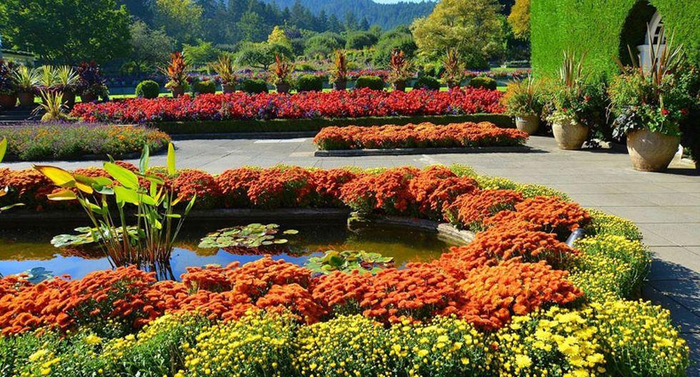 Estos hermosos jardines parecen de un cuento de hadas - 3