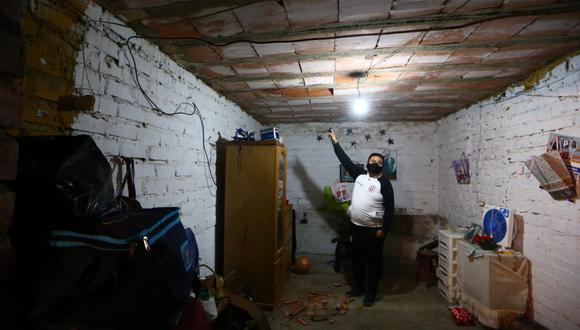 Edificios afectados, viviendas con rajaduras y algunas personas durmiendo en la calle tras el fuerte sismo de 6 grados que se registró la noche del martes. (Fotos: GEC)