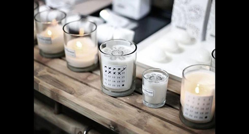 Velas. Las velas aromáticas le darán un rico y relajante olor al cuarto. Además, se ven muy bien sobre una mesa de noche y un comodín. (Foto: Pinterest yourhomedecorideas.com)