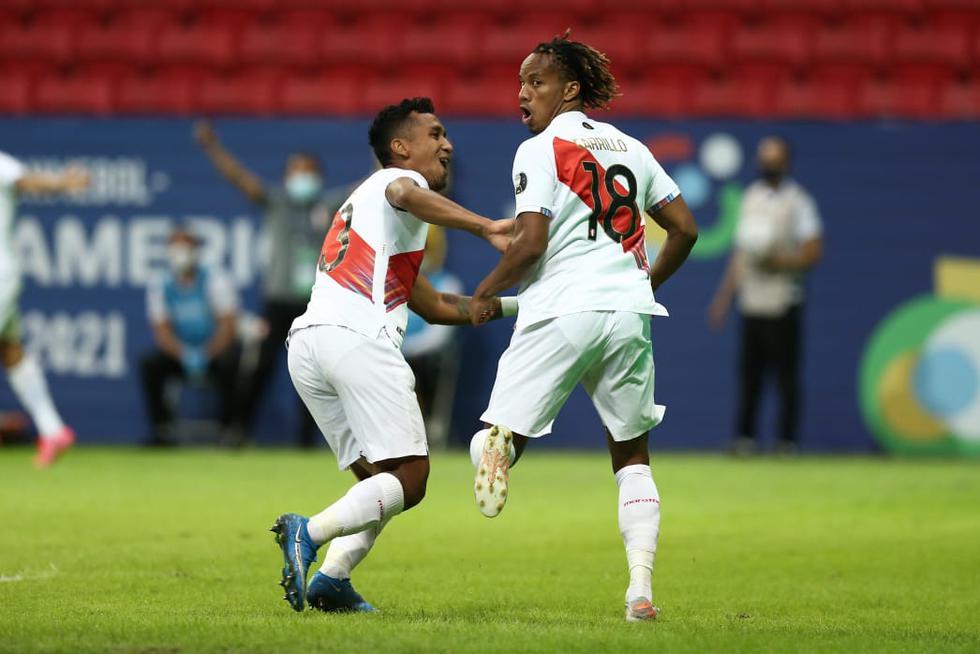 Perú vs. Venezuela por la Copa América 2021 | Foto: Jesús Saucedo / @photo.gec