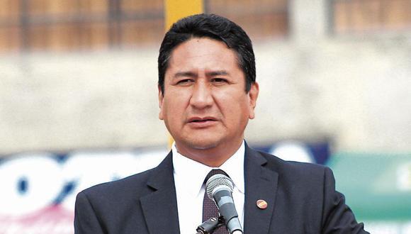 Vladimir Cerrón busca anular las sentencias en su contra por negociación incompatible. (Foto: Wilder Huaroc)