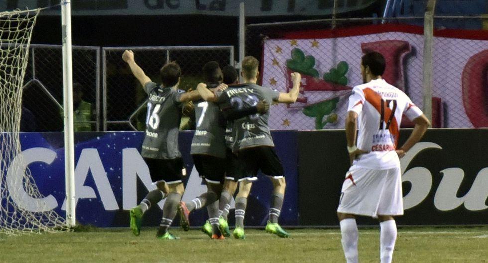 Estudiantes venció 1-0 a Nacional Potosí de visita por la segunda ronda de Sudamericana. (Foto: AFP)