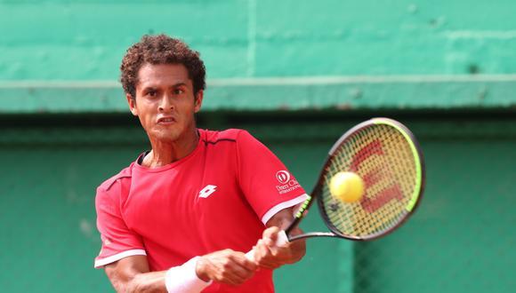 Juan Pablo Varillas se quedó en semifinales del Challenger de Santiago. (Foto: GEC)