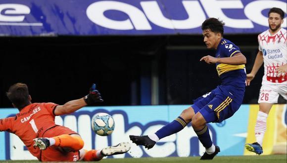Boca Juniors y Huracán se enfrentaron en partido por la Copa Diego Maradona (Foto: @BocaJrsOficial)