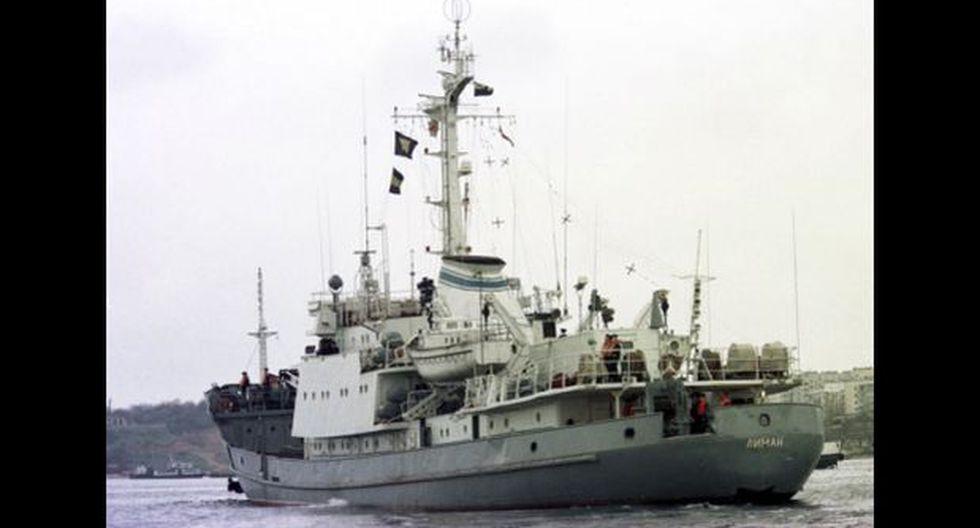 Un buque espía de Rusia se hunde frente a Turquía