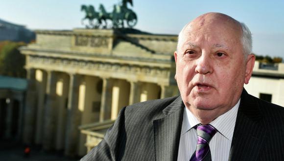 Mijaíl Gorbachov, ex presidente de la Unión Soviética. (Foto: AP/Jens Kalaene)