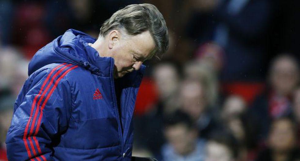 """Van Gaal a veces se """"aburre"""" durante los partidos de su equipo"""