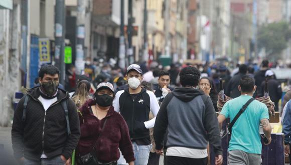 La cifra de contagiados por el COVID-19 aumentó, según informó el Minsa. (Foto: Miguel Bellido/GEC)