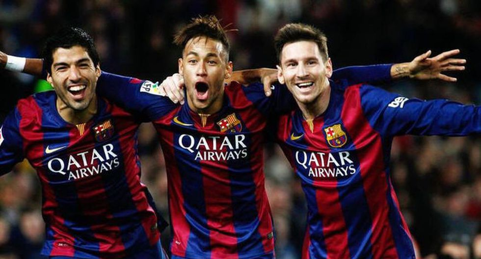 Neymar se manifestó a través de Instagram, en dónde comentó la fotografía de sus amigos Lionel Messi y Luis Suárez (Foto: AFP)
