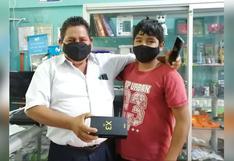 Junín: profesor que realizó pollada logró comprar celular a escolar para que estudie