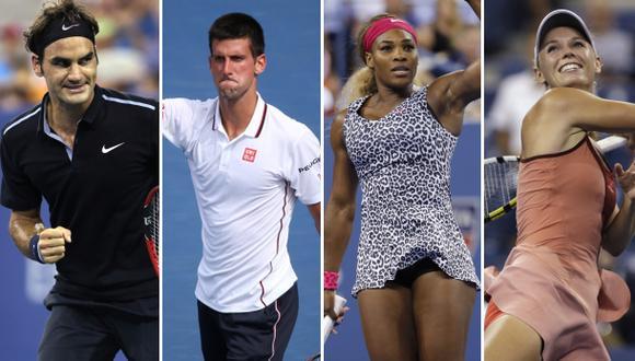 US Open: así van las llaves de los cuadros masculino y femenino