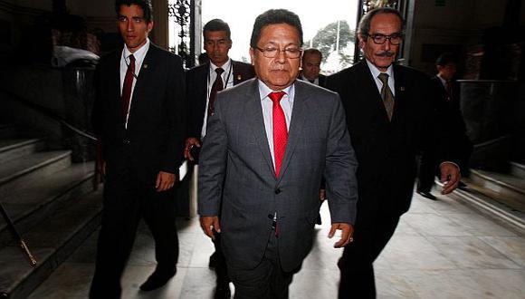 Carlos Ramos Heredia responderá hoy a la Comisión Áncash