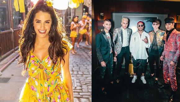 La argentina y la 'boyband' latina serán los 'hosts' de los Premios Juventud 2019. (Foto: Instagram).