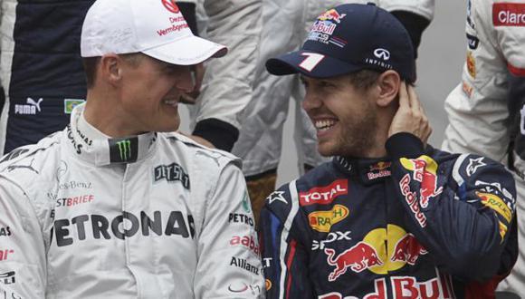 """Vettel sobre salud de Schumacher: """"Esperamos un milagro"""""""