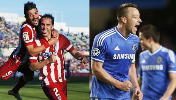 Atlético de Madrid vs. Chelsea: así alinean ambos equipos