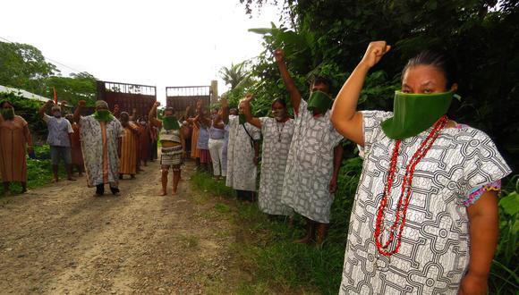 Las comunidades de la Amazonía del país se han organizado para poder crear un registro de casos y atender los problemas de contagios que se presentan en sus territorios. (Foto: Aidesep)