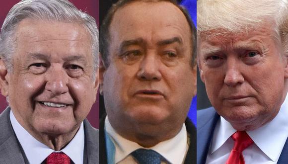 Andrés Manuel López Obrador (México), Alejandro Giammattei (Honduras) y Donald Trump son algunos de los presidentes que padecieron de COVID-19 en los últimos meses. López Obrador continúa en tratamiento. (Foto: AFP)