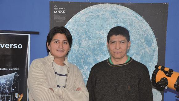 De izquierda a derecha: Víctor Vera y Teófilo Vargas. (Foto: UNMSM/Space)