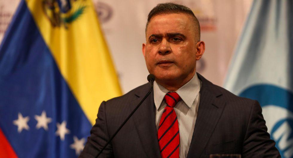 El fiscal general de Venezuela aseguró durante una entrevista con CNN en Español por qué Guaidó no ha corrido la misma suerte que el vicepresidente de la Asamblea Nacional de Venezuela, Édgar Zambrano, y otros opositores. (EFE)