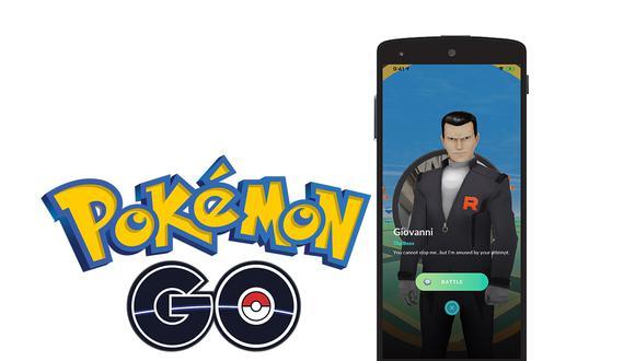 ¿Quieres vencer rápidamente a Giovanni, líder del Team Rocket Go en Pokémon GO? Entonces sigue este truco. (Foto: Niantic)