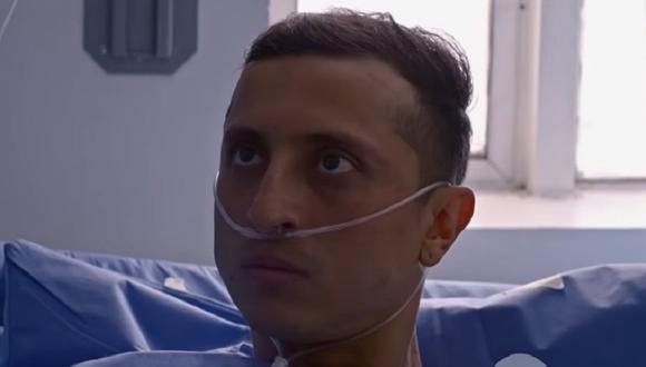 Titano se angustia cuando el médico le da de alta (Foto: La reina del flow 2/ Caracol TV)