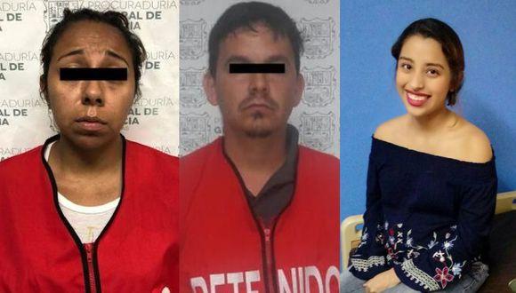 Facebook: La pareja que mató a una joven embarazada para robarle su bebe. (Foto: Captura)