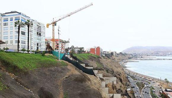 Alcalde de Barranco: se respetará intangibilidad de acantilados