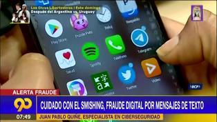 Smishing: Cómo evitar este fraude digital mediante mensajes de texto