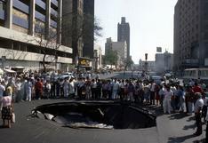 Un cráter en Lima: el día en que el Centro Histórico amaneció como si fuera víctima de un bombardeo