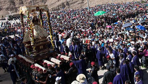 Arequipa: 220 mil peregrinos llegarían por Virgen de Chapi