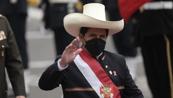 Presidente Pedro Castillo tiene el gran reto de continuar con la recuperación y crecimiento de la economía, indicaron los expertos. (Foto: Anthony Niño de Guzmán/ @photo.gec)