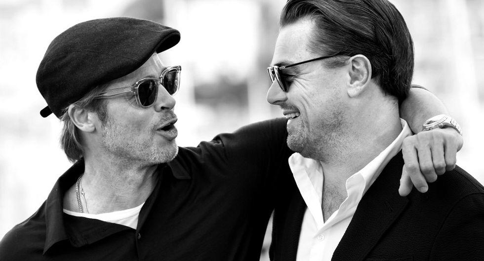 Brad Pitt y Leonardo DiCaprio son compañeros de elenco en 'Érase una vez... en Hollywood', la película de Quentin Tarantino. (Foto: Agencias)