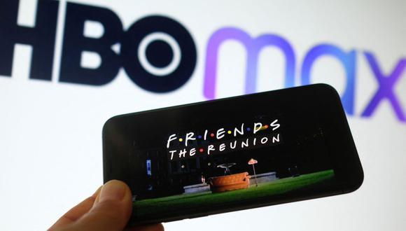 """""""Friends, The Reunión"""" es uno de los contenidos recomendados por HBO Max. (Foto: AFP)"""