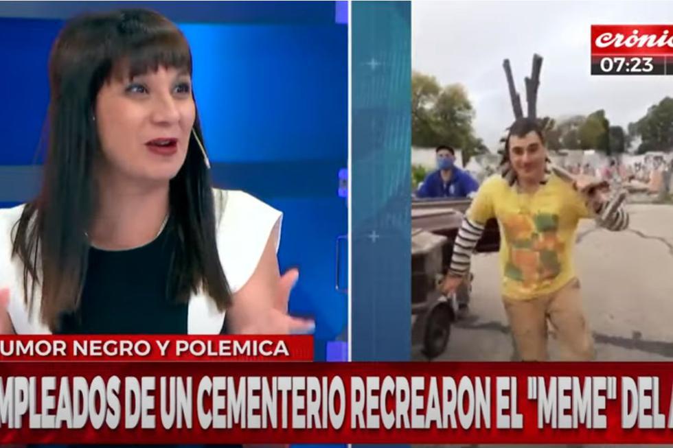 Las imágenes se viralizaron en YouTube y fueron difundidas por Crónica TV.